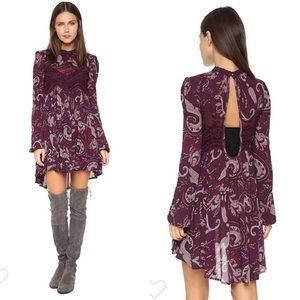 Free People Sweet Thing Lace Tunic Boho Dress